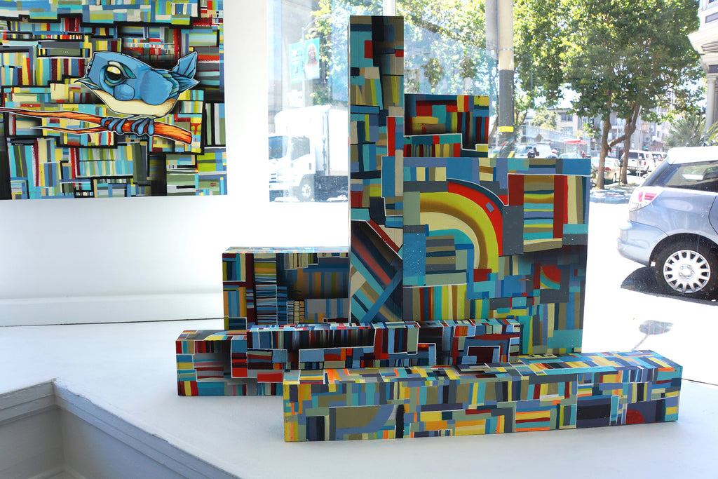 "John Osgood ""In Plain Sight"" Exhibition at Voss Gallery San Francisco - Window Sculpture"
