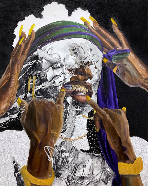 """Khari Turner's solo exhibition """"Hella Water"""" is on view at Voss Gallery, San Francisco from May 21-June 19, 2021"""