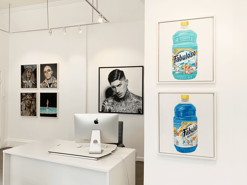 "Tati Holt's ""Fabuloso"" Install Photographs at Voss Gallery, San Francisco"