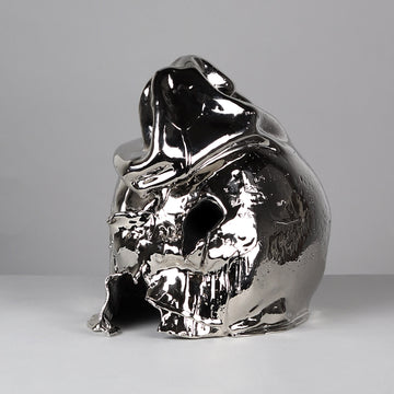 Gale Hart 'Bling Hoodie' Silver Sculpture is available at Voss Gallery, San Francisco for $1,200