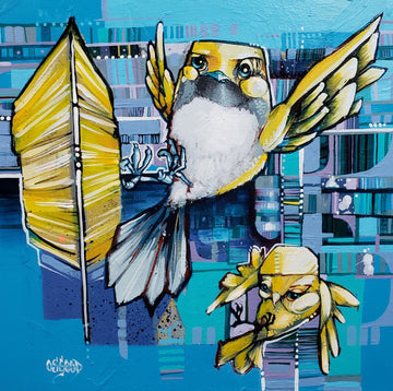 John Osgood's contemporary urban painting