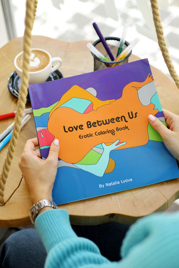 Love Between Us Coloring Book