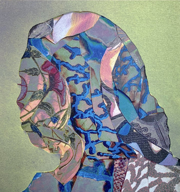 Soad Kader's collage portrait work