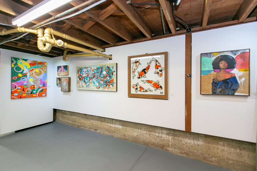 New Contemporary Art at Voss Gallery's 'The Down Low' in San Francisco