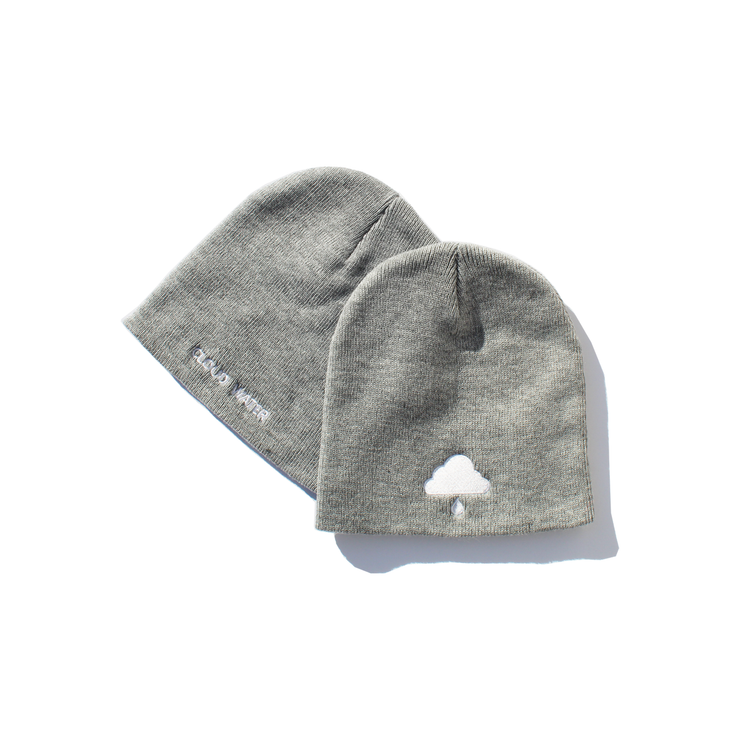 Heather Grey Knit Beanie: NEW!