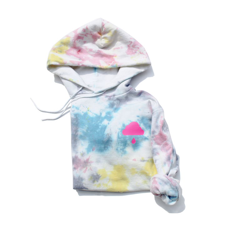 Limited Edition Cloud Tie-Dye Hoodie