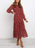 Thaddeus Dress - Red