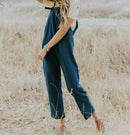 Dennison Overall Pure Color Jumpsuit