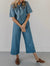 Raymond Denim Pure color Jumpsuit