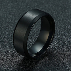 Stainless Steel Jewelry Wedding Ring For Man