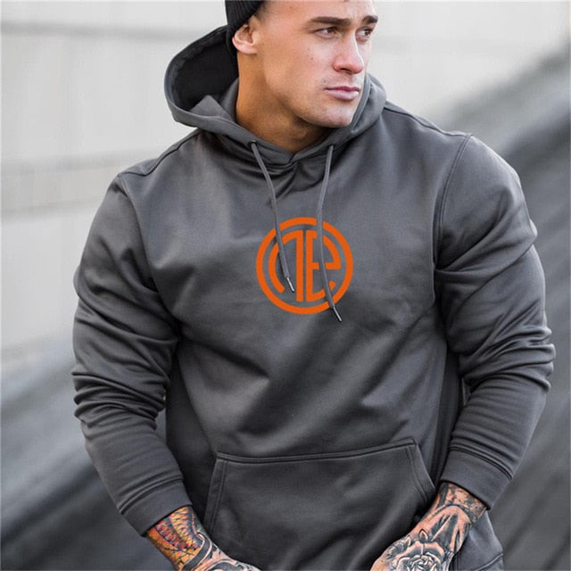 Fitness Solid Sportswear Hooded