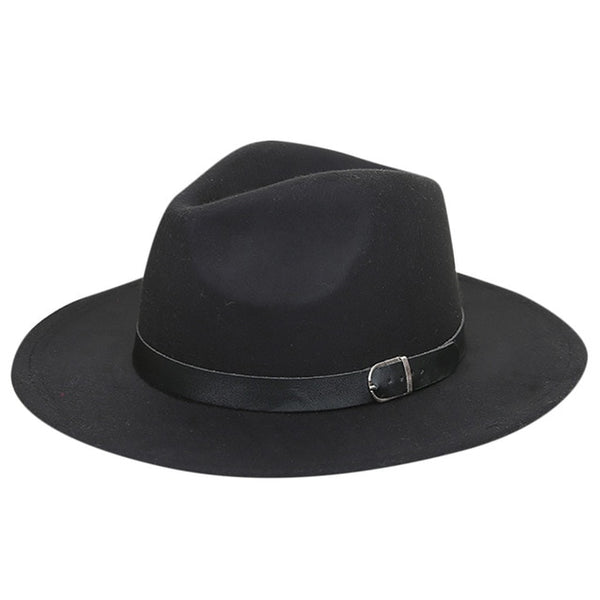 Women's Crush-able Wool Felt Outback Panama Hat