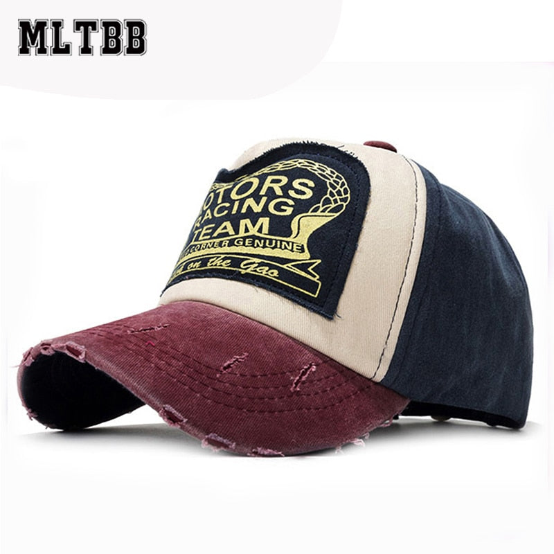 MLTBB Printed Letters Baseball Cap For Men