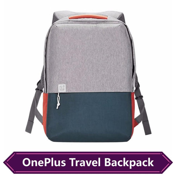 One-plus Men Canvas Laptop Backpacks