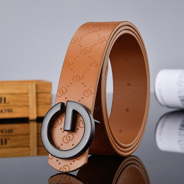 Hot sale G smooth buckle belt