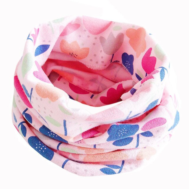 Cotton Baby Scarf Baby Girls Scarf