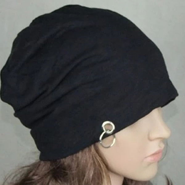 Slouch Baggy Iron Hoop Ring Cap Hip Hop cloth Hat