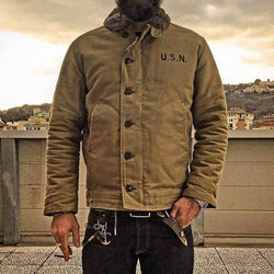 Deck Jacket Vintage USN Military