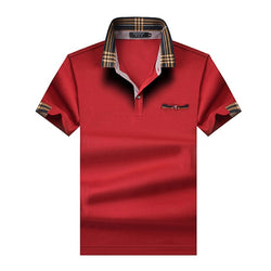 Classic Men Polo Shirt Summer Short Sleeve