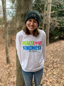 Peace, Love and Kindness Long Sleeve