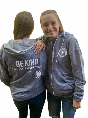 Full Zip Be Kind to Everyone Hoodie