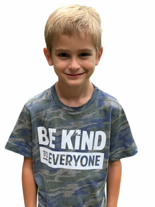 Youth Camo Be Kind to Everyone