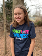 Peace Love Kindness -  Short Sleeve Shirt