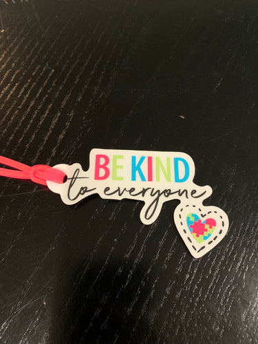 Bag Tags 10 Pack - Be Kind to Everyone