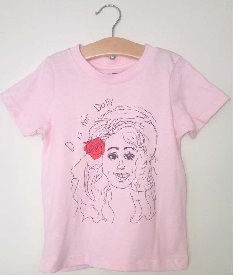 D is for Dolly tee