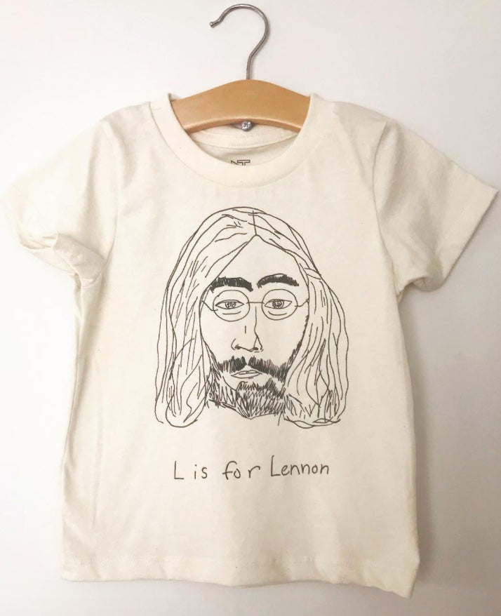 L is for Lennon Tee