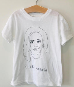 K is for Kamala kids tee