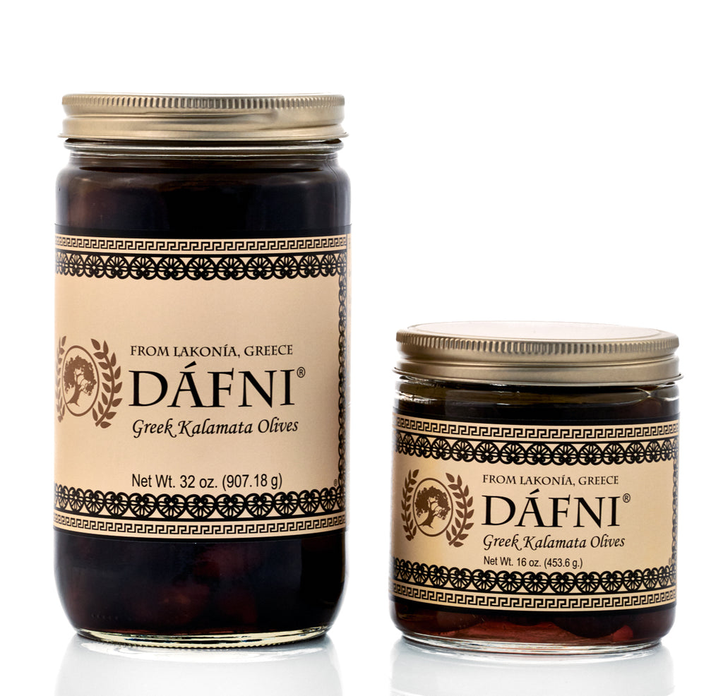 DÁFNI Greek Kalamata Olives