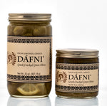 DÁFNI Greek Cracked Green Olives