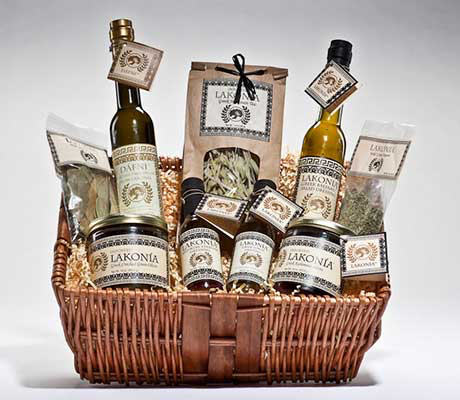 DÁFNI Large Gift Basket