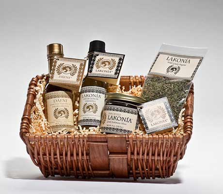 DÁFNI Small Gift Basket