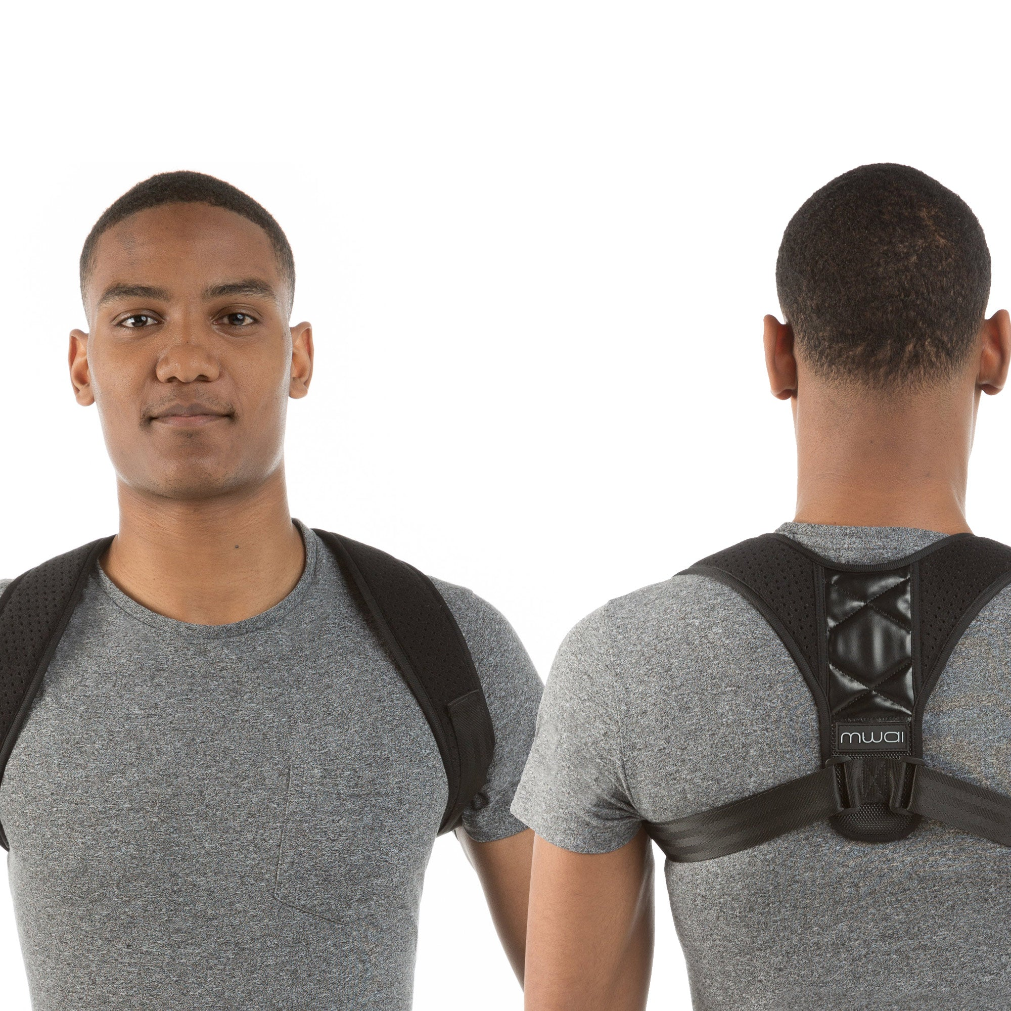 Backup Essential Black Posture Corrector (Unisex)
