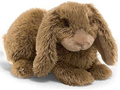 Hoppy Days Fluffer Brown Bunny - Gund Plush Bunny Rabbit