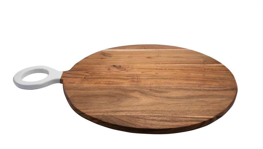 Acacia Wood Round Cutting Board