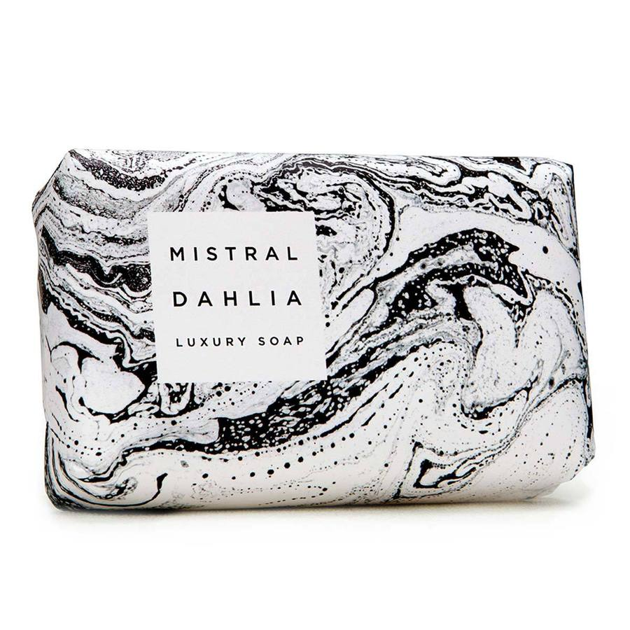 Marbled  Dahlia Bar Soap 7
