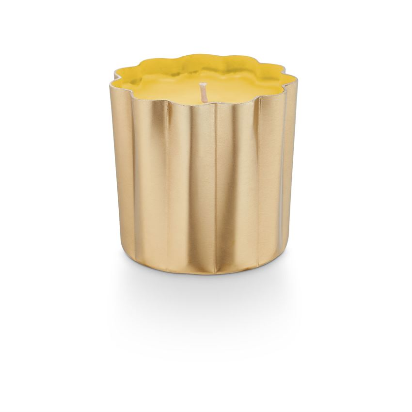 Golden Honeysuckle Mini Metal Candle