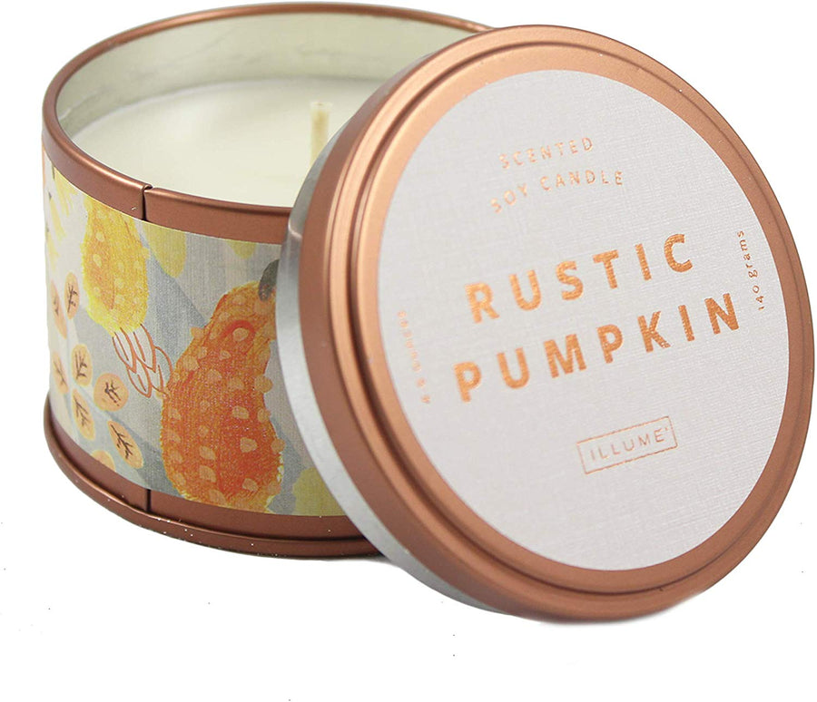 Rustic Pumpkin Autumnal Tin
