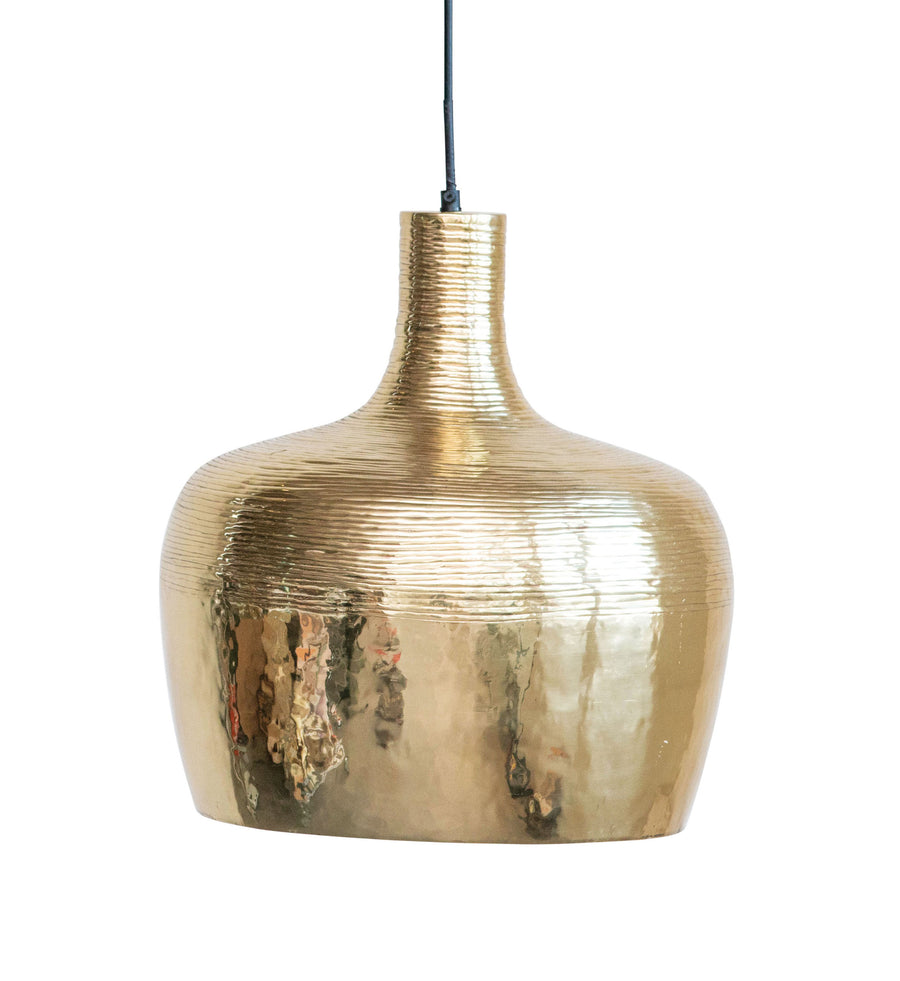 Fabulous Gold Pendant Light