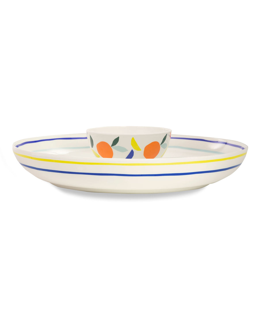 Melamine Chip and Dip Citrus Twist