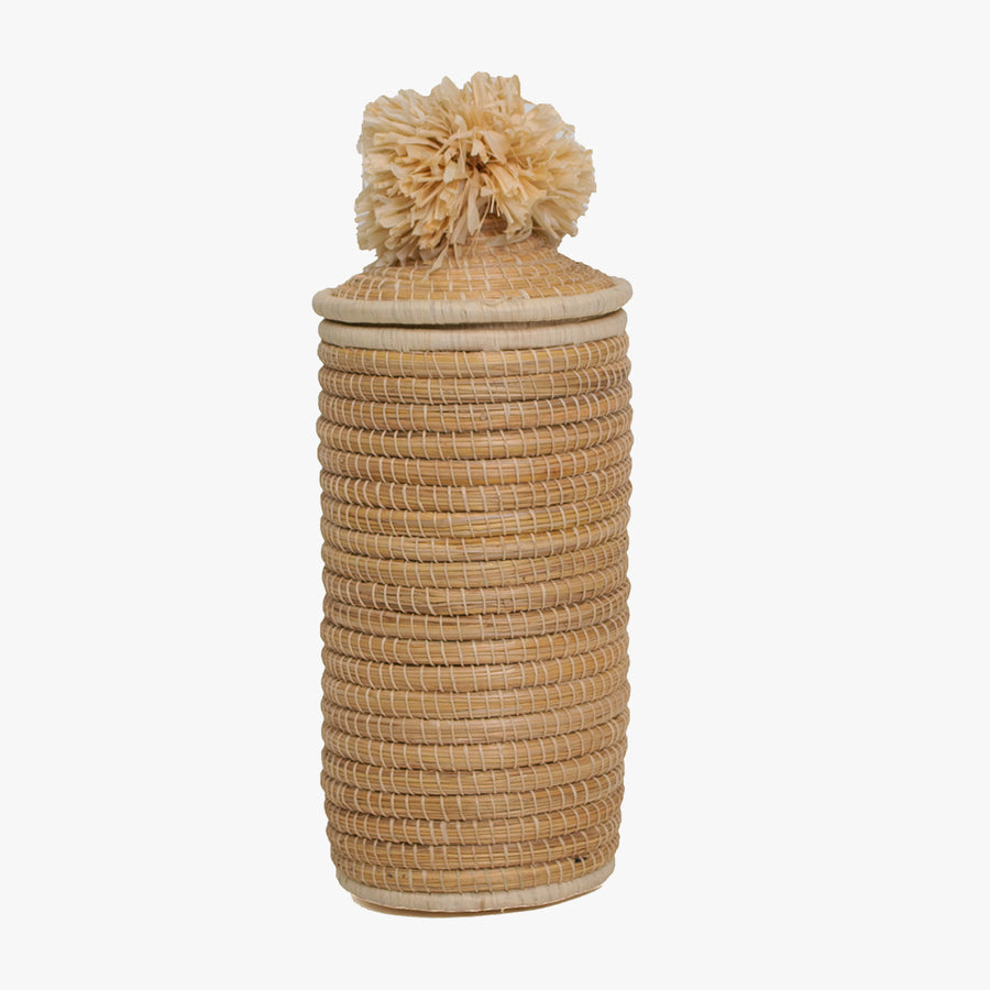 Natural Tall Pom Pom Box