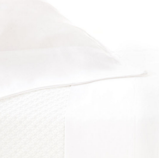 Silken Solid White Sheet Set Queen