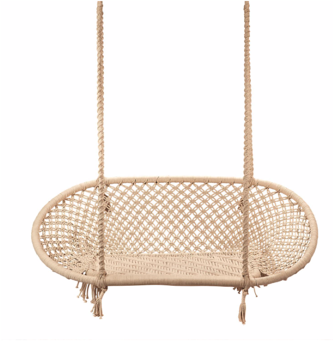 Macrame Double Hanging Chair