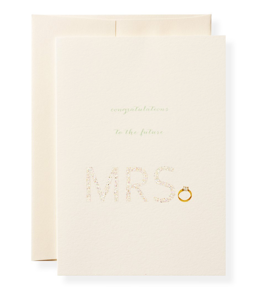 Mrs. Greeting Card