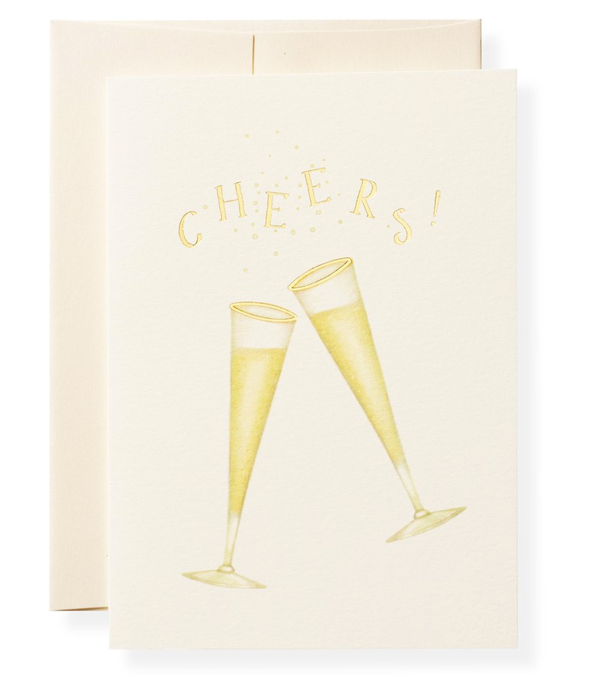 Tipsy Cheers Greeting Card