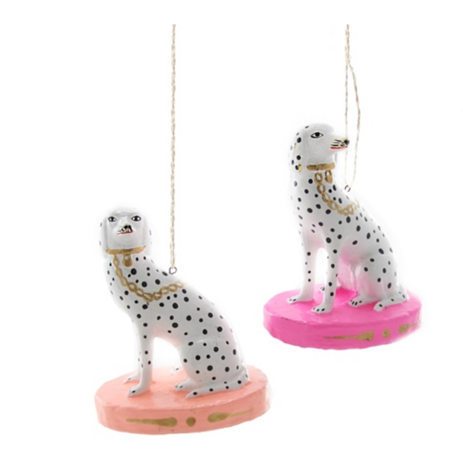 Spotted Dalmatian Ornament
