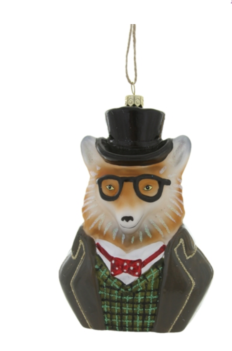Fox Dandy Ornament
